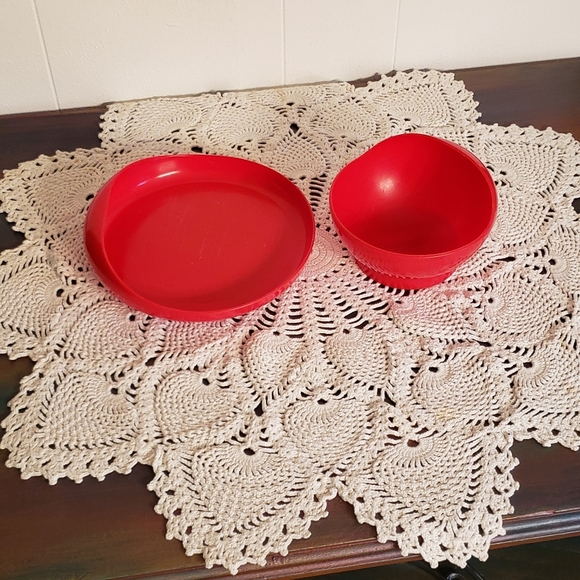 Vintage Other - Vintage Tommee Tippee Toddler Plate and Bowl Set